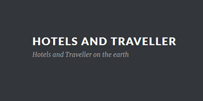 Hotels and Traveller