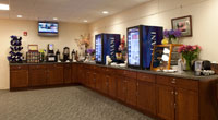 Bar setup at The Wylie Inn and Conference Center