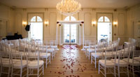 Tupper Manor large wedding seating