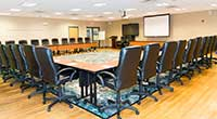 The Wylie Inn and Conference Center boardroom